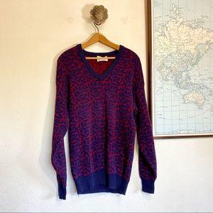 Vintage Cotton Graphic Sweater